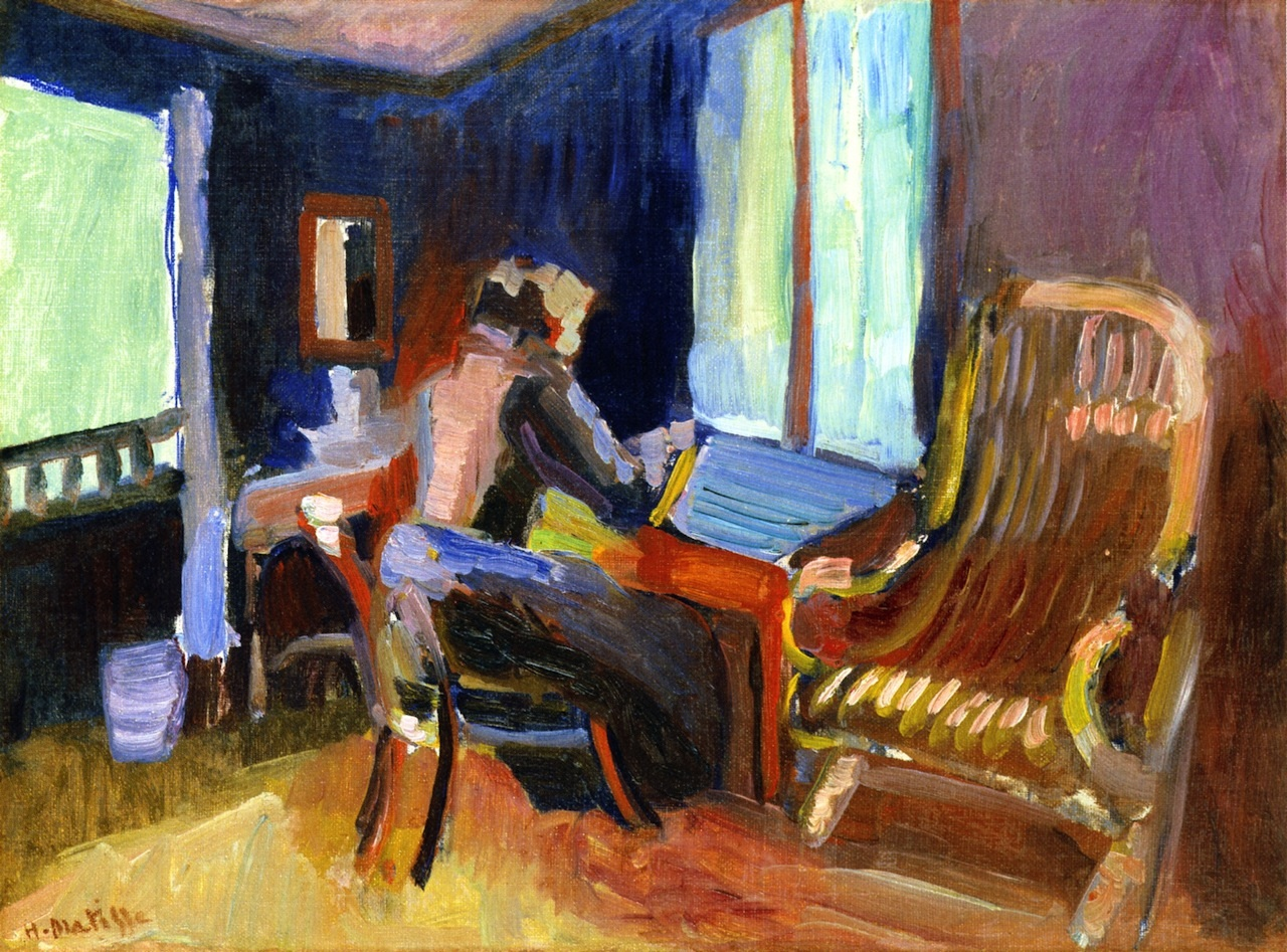 Swiss Interior. Jane Matisse 1901