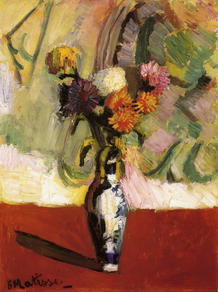 Chrysanthemums in a Chinese Vase 1902
