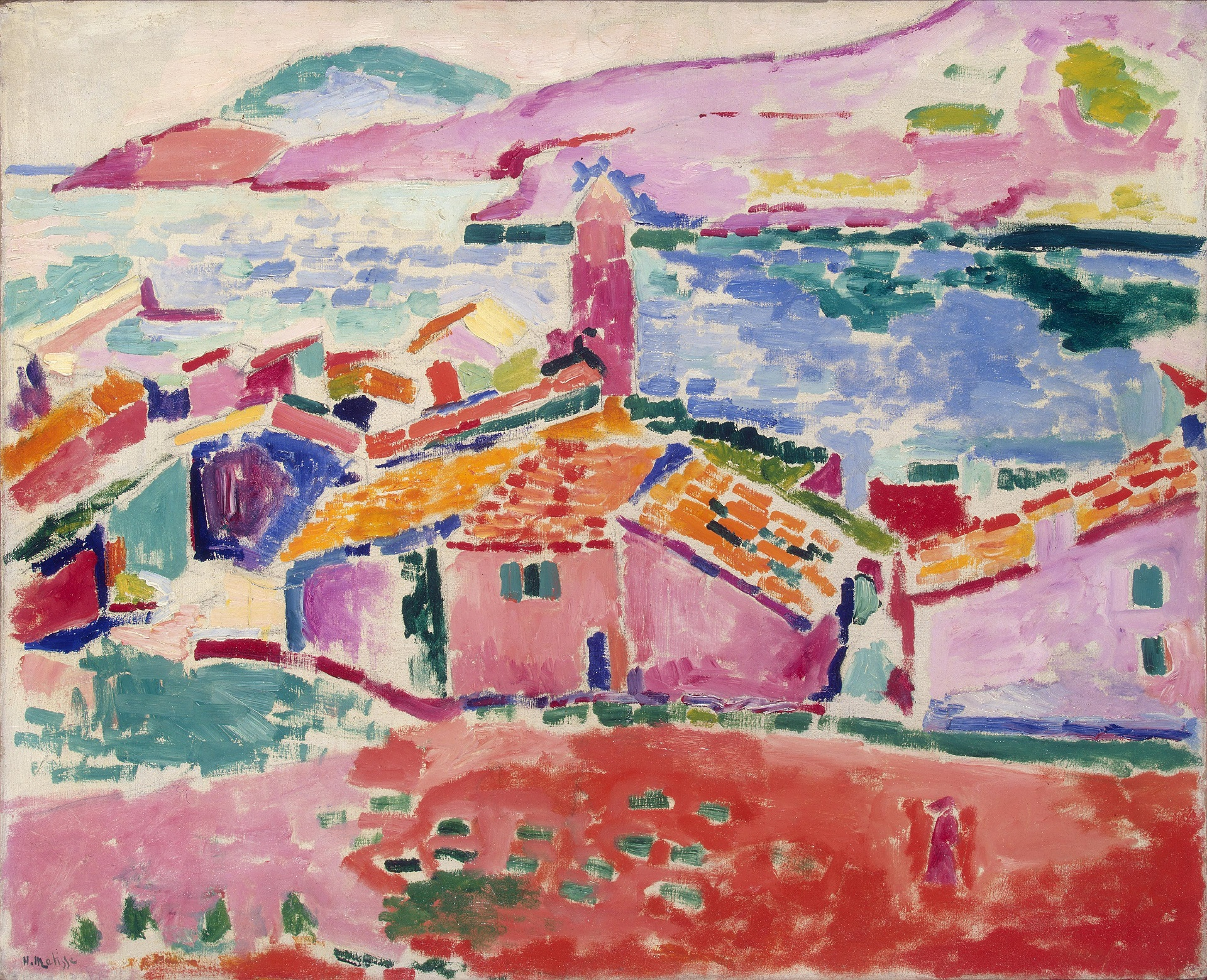 View of Collioure 1905