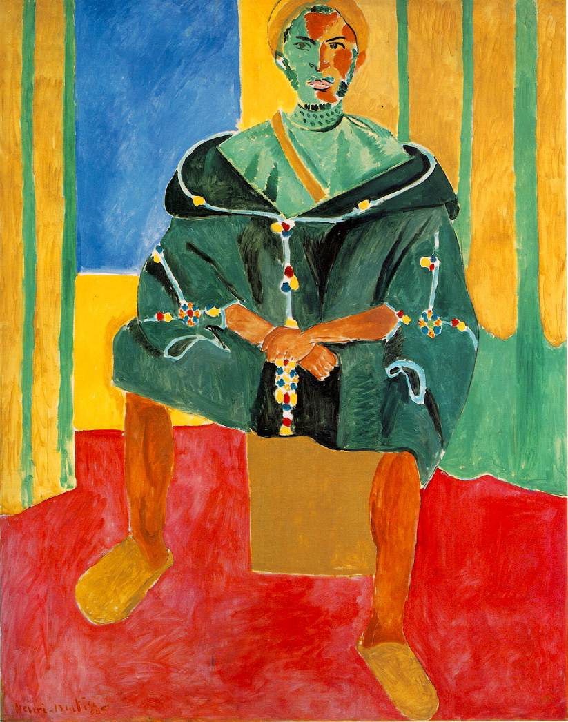 Seated Riffian 1913