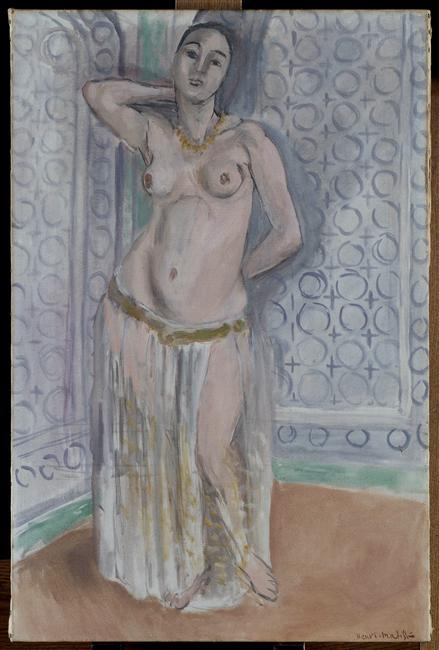 Odalisque in blue or white slave 1922