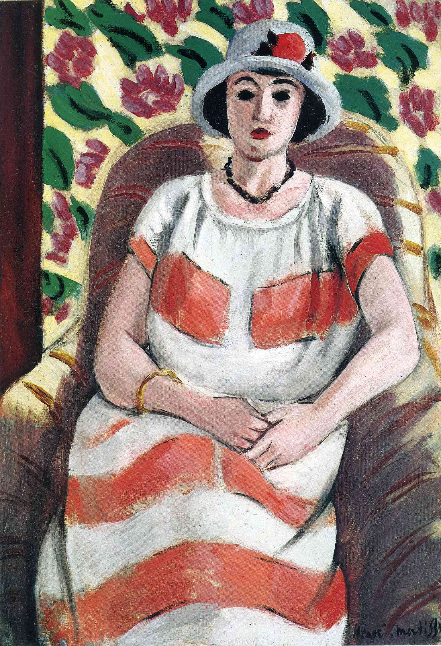 Young woman in Pink 1923