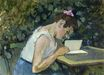 Woman Reading in a Garden 1903