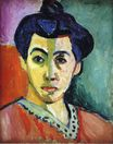 Portrait of Madame Matisse. Green Stripe 1905
