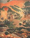 Landscape with Brook. Brook with Aloes 1907