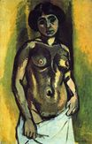 Nude. Black and Gold 1908