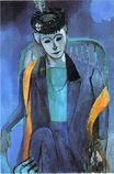 Portrait of Mme. Matisse 1913