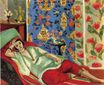 Odalisque in red trousers 1924-1925