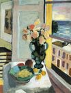 Flowers in front of a Window 1922