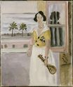 Woman with mandolin 1922