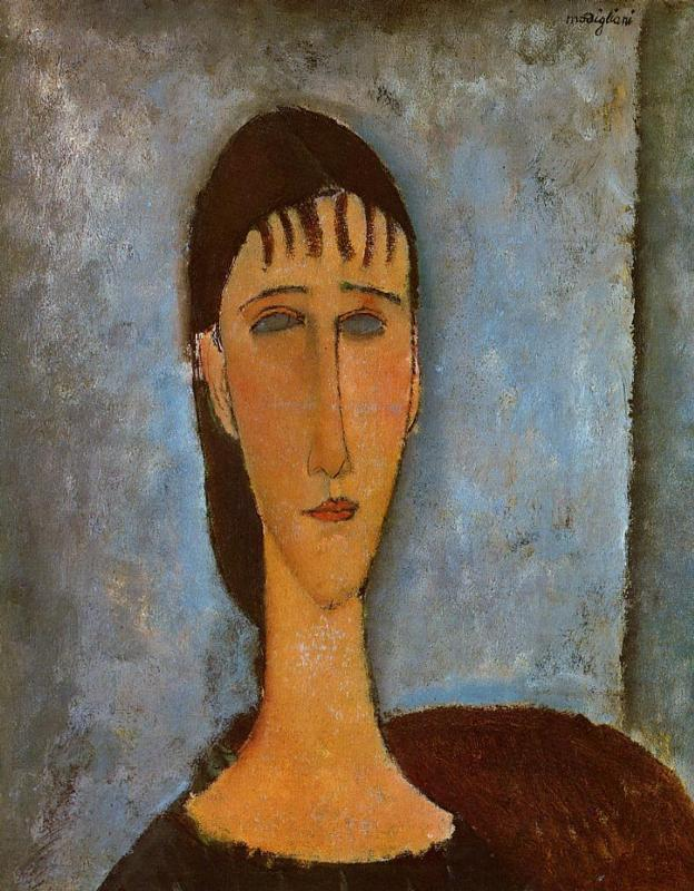 Amedeo Modigliani - Portrait of a Young Girl 1910
