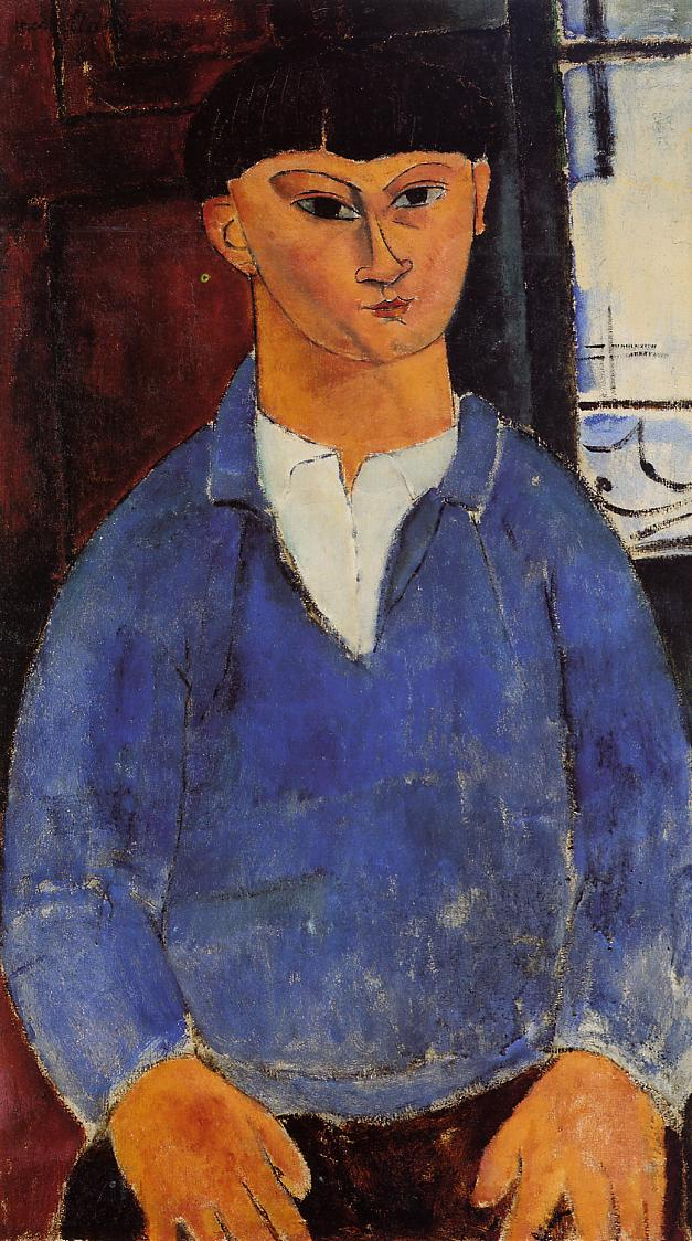 Amedeo Modigliani - Portrait of Moise Kisling 1916