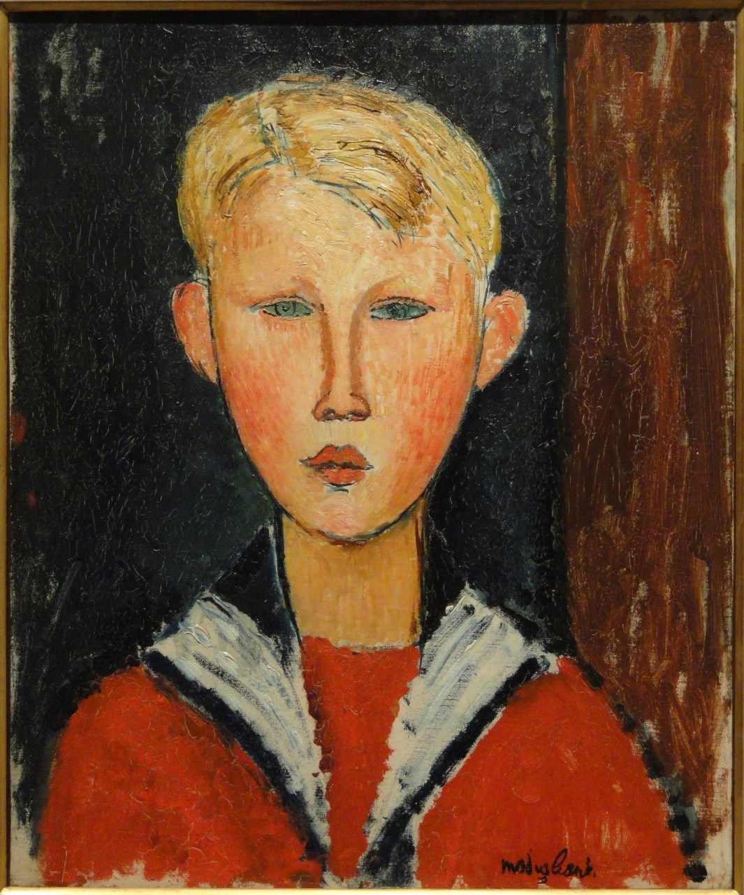 Amedeo Modigliani - The Blue-Eyed Boy 1916
