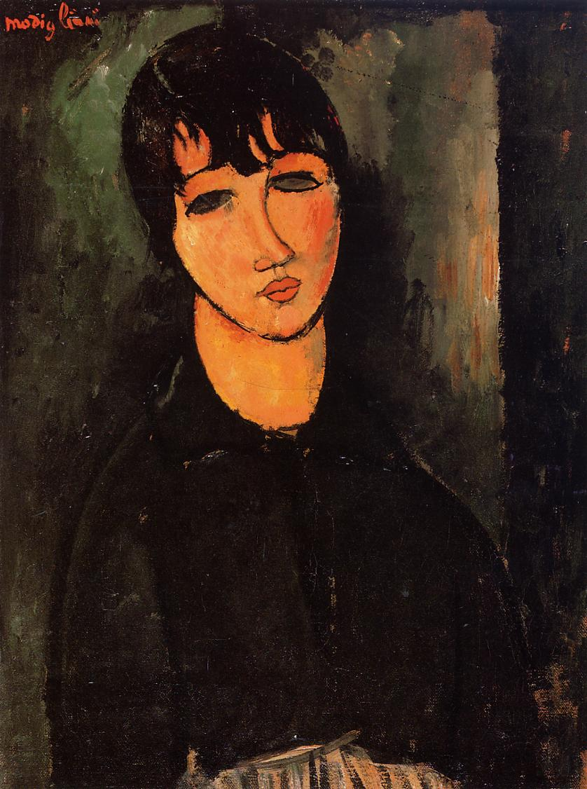 Amedeo Modigliani - The Servant 1916