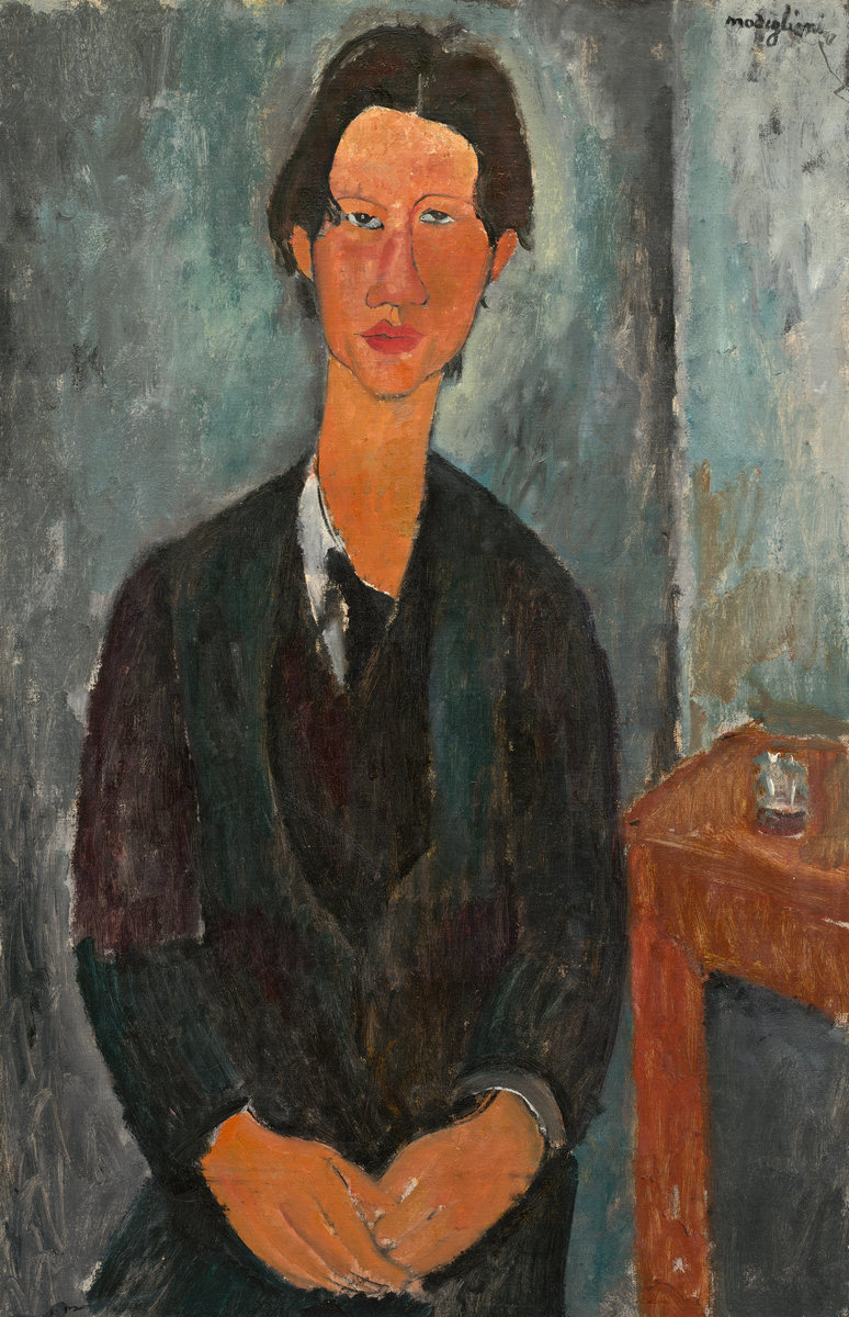Amedeo Modigliani - Portrait of Chaim Soutine 1917