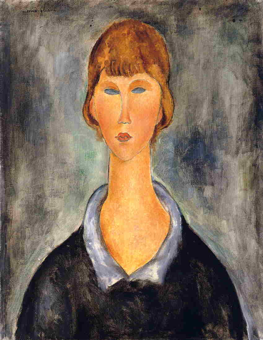 Amedeo Modigliani - Portrait of a Young Woman 1919