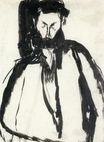 Amedeo Modigliani - Bearded Man 1905