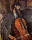 Amedeo Modigliani - Study for The Cellist 1909