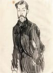 Amedeo Modigliani - Paul Alexandre, Left Hand in His Pocket 1909