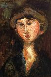 Amedeo Modigliani - Beatrice Hastings 1914