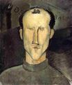 Amedeo Modigliani - Leon Indenbaum 1915