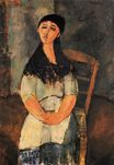 Amedeo Modigliani - Little Louise 1915
