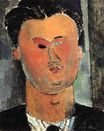 Amedeo Modigliani - Pierre Reverdy 1915