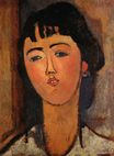 Amedeo Modigliani - Portrait of a Woman 1915