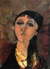 Amedeo Modigliani - Portrait of a Young Girl. Louise 1915
