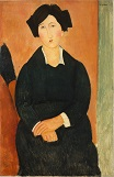 Amedeo Modigliani - The Italian Woman 1917