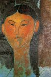Amedeo Modigliani - Portrait of Beatrice Hastings 1915