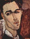Amedeo Modigliani - Portrait of Celso Lagar 1915