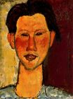 Amedeo Modigliani - Portrait of Chaim Soutine 1915