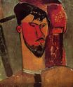 Amedeo Modigliani - Portrait of Henri Laurens 1915