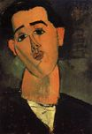 Amedeo Modigliani - Portrait of Juan Gris 1915