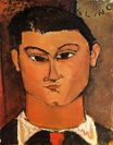 Amedeo Modigliani - Portrait of Moise Kisling 1915
