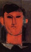 Amedeo Modigliani - Portrait of Picasso 1915