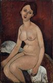 Amedeo Modigliani - Seated nude 1915