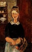 Amedeo Modigliani - The Pretty Housewife 1915