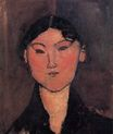Amedeo Modigliani - Woman's Head. Rosalia 1915
