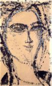 Amedeo Modigliani - Woman's Head 1915