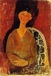 Amedeo Modigliani - Beatrice Hastings, Seated 1915
