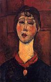 Amedeo Modigliani - Madame Dorival 1916