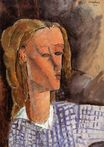 Amedeo Modigliani - Portrait of Beatrice Hastings 1916
