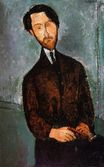 Amedeo Modigliani - Portrait of Leopold Zborowski 1916