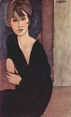 Amedeo Modigliani - Portrait of Madame Reynouard 1916