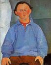 Amedeo Modigliani - Portrait of Oscar Miestchanioff 1916