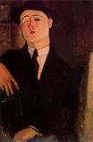 Amedeo Modigliani - Portrait of Paul Guillaume 1916