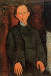 Amedeo Modigliani - Portrait of Pinchus Kremenge 1916