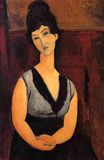 Amedeo Modigliani - The Beautiful Confectioner 1916
